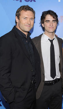 Jason O&#39;Mara and Landon Liboiron at the 2011 Fox Upfront in New York.